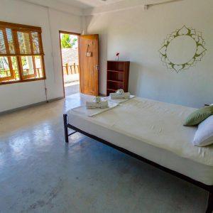 Yoga Retreat Sri Lanka - Einzelzimmer Doppelbett